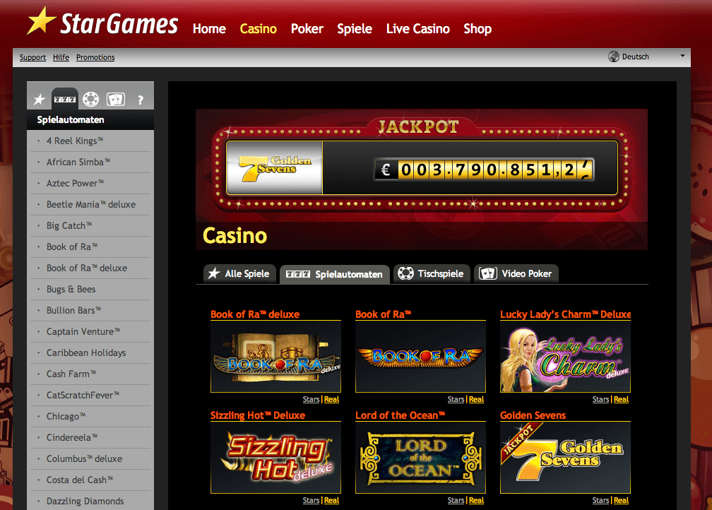 star game casino online