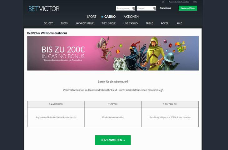 BetVictor_Casino_Bonus