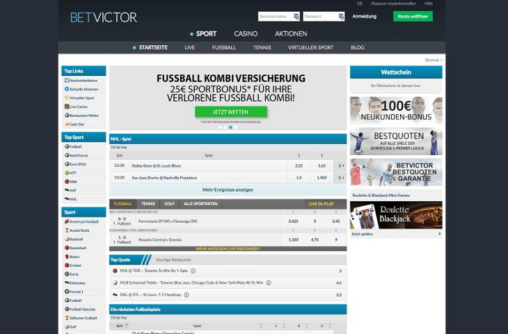 BetVictor_Casino_Sportwetten