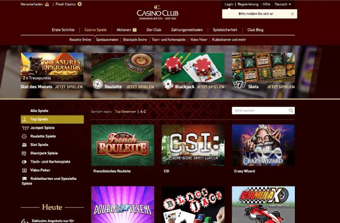 Casinoclub Keine Auszahlung