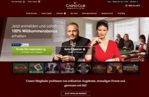 CasinoClub_Startbildschirm