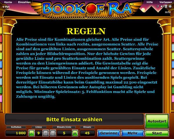 online novoline casino book of ra gratis