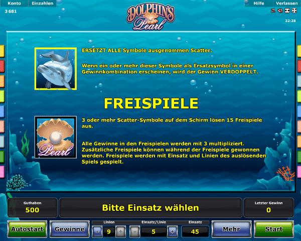 novoline_dolphins_pearl_freispiele