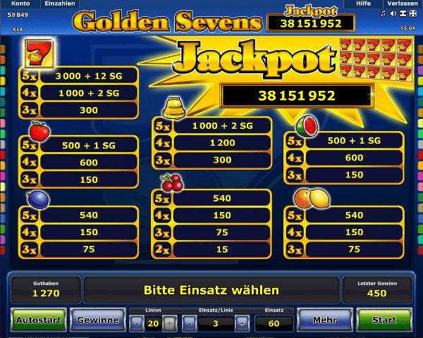 golden online casino spielautomat