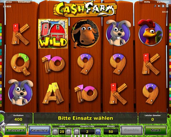 Cash Farm Spielautomat
