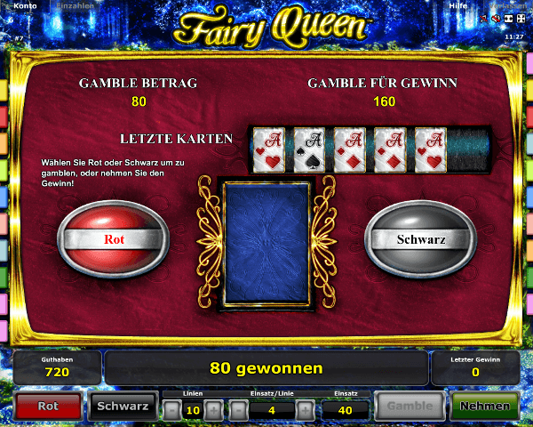Fairy Queen Gambling