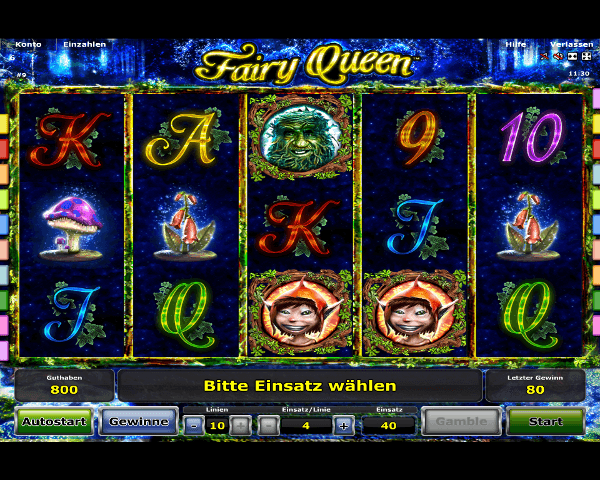 Fairy Queen Spielautomat