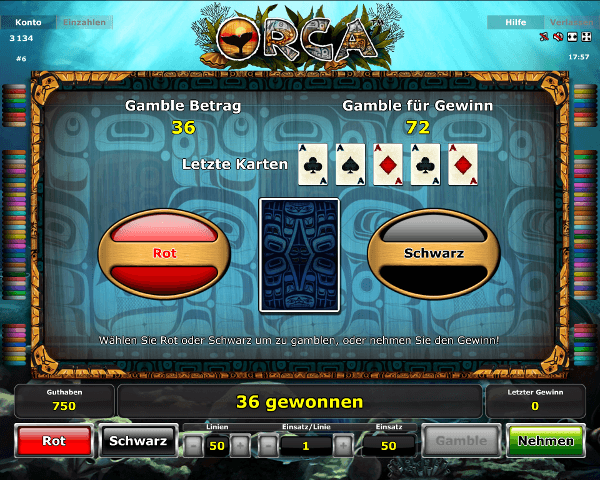 Orca Gambling Funktion