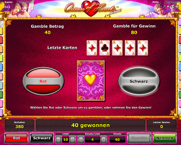Queen of Hearts Gambling