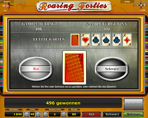 Roaring Forties Gambling