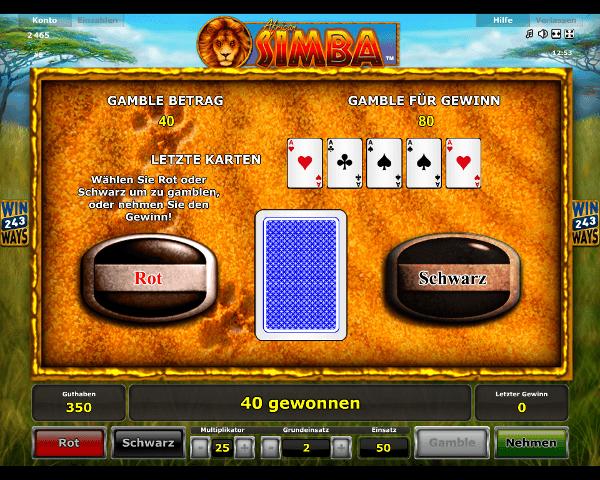 African Simba Gambling