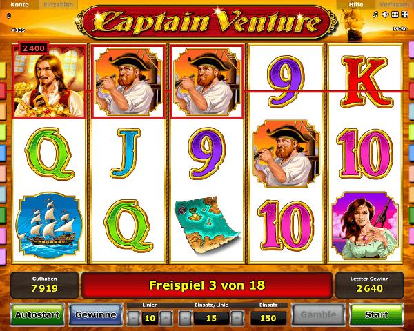 Captain Venture Spielautomat