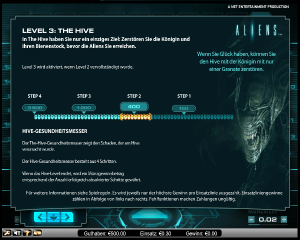 Aliens Level 3