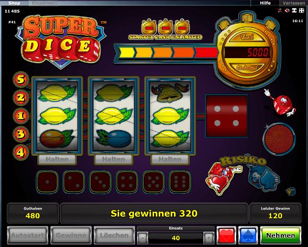 Super Dice Spielautomat