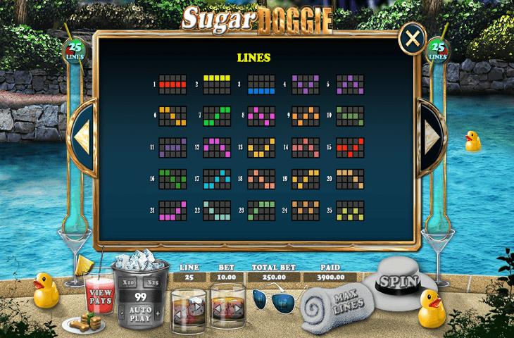 888casino_Sugar_Doggie_Gewinnlinien