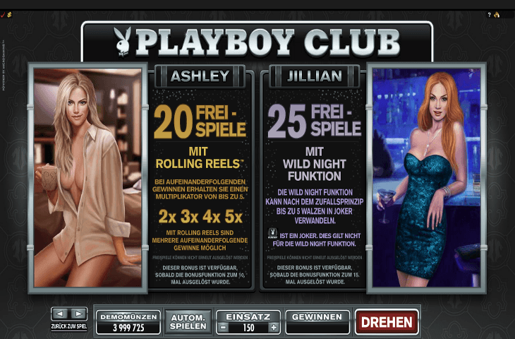 Playboy Ashley und Jillian Freispiele