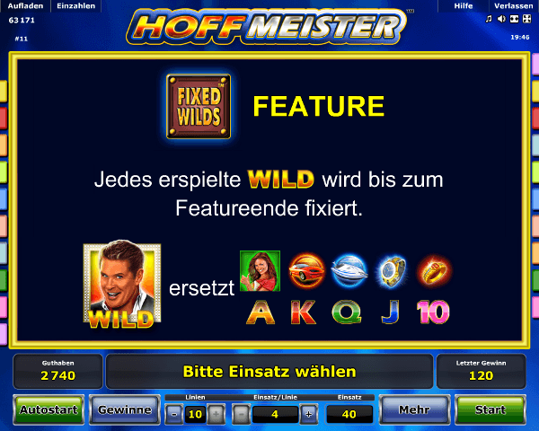 Hoffmeister Fixed Wilds Feature