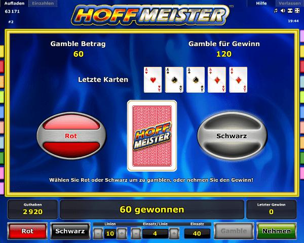 Hoffmeister Gambling