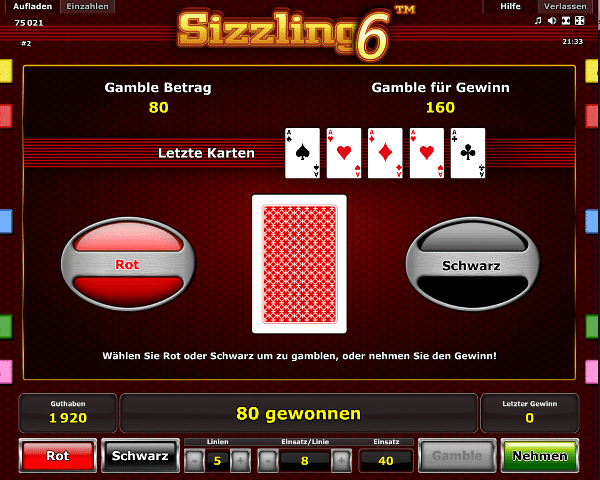 casino betting online sizzling online