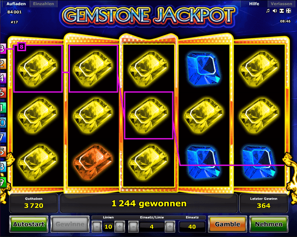 Gemstone Jackpot Spielautomat