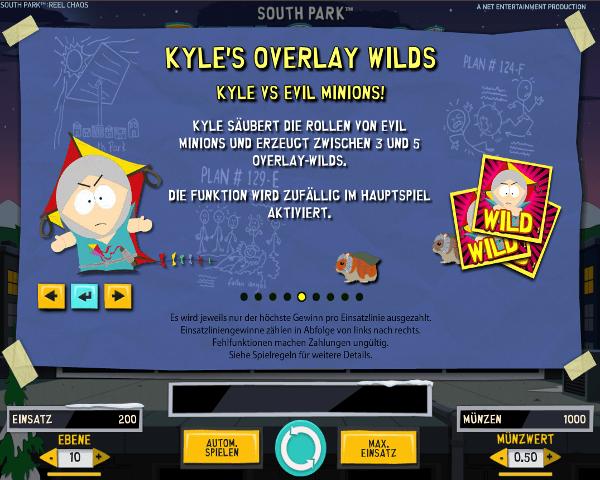 South Park Reel Chaos Kyle's Overlay Wilds