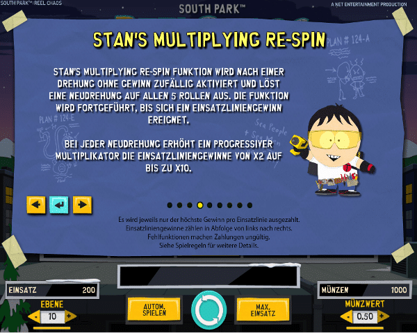 South Park Reel Chaos Stan's Multiplying Re-Spin
