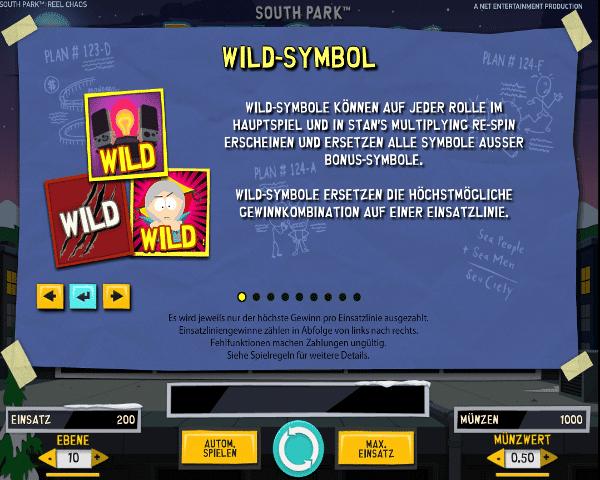 South Park Reel Chaos Wild-Symbol