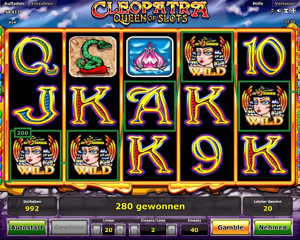 Novoline_Cleopatra_Spielautomat