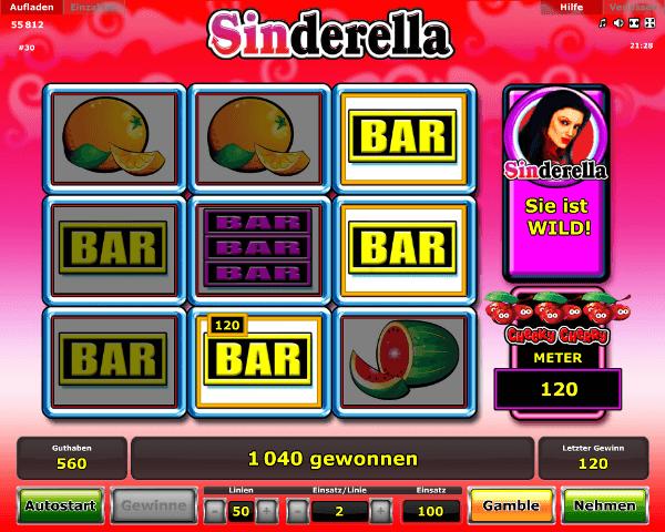 Novoline_Sinderella_Spielautomat