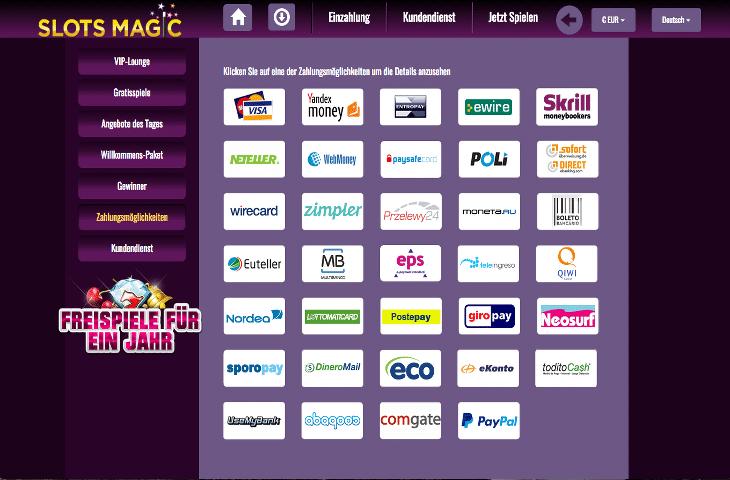 Slots_Magic_Casino_Zahlungsmoeglichkeiten