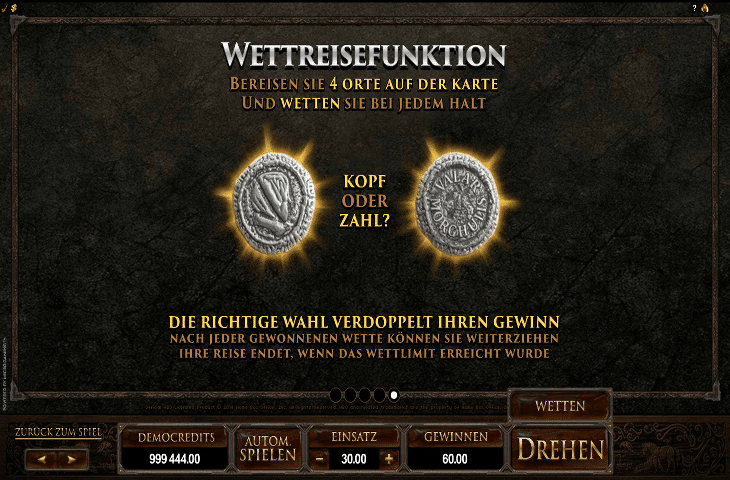 Game of Thrones Wettreisefunktion