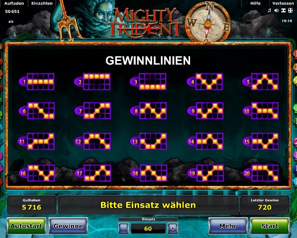 Novoline_Mighty_Trident_Gewinnlinien