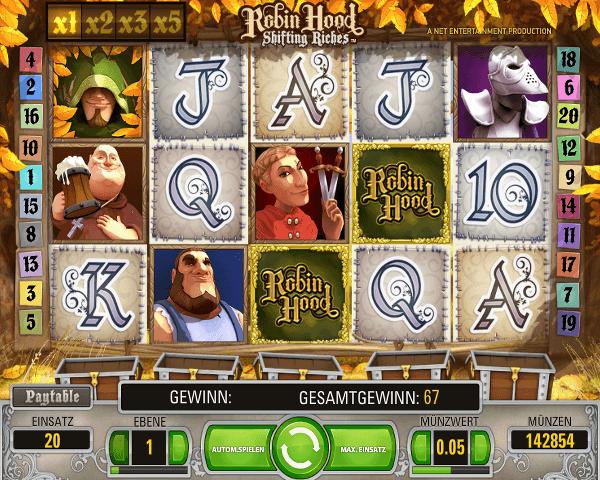 Spielautomat_Robin_Hood_im_888casino