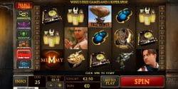 Die Mumie der Spielautomat im Eurogrand Casino