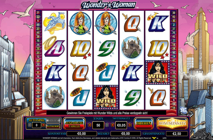 InterCasino_Wonder_Women_Spielautomat