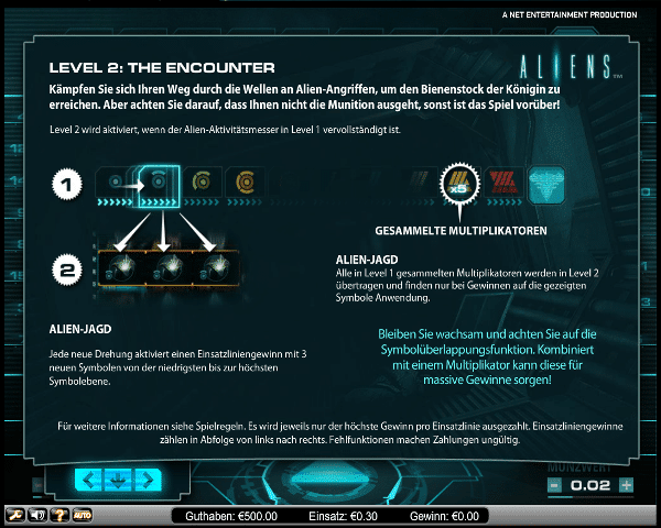 Aliens Level 2