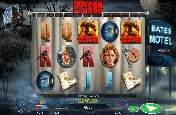 Psycho Spielautomat