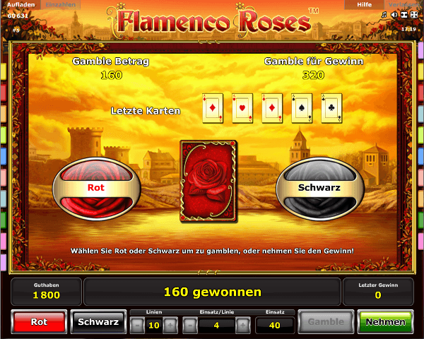 Flamenco Roses Gambling