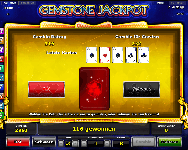 Gemstone Jackpot Gambling