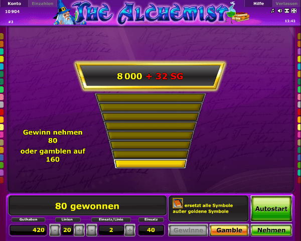 Novoline_The_Alchemist_Gamble_Funktion
