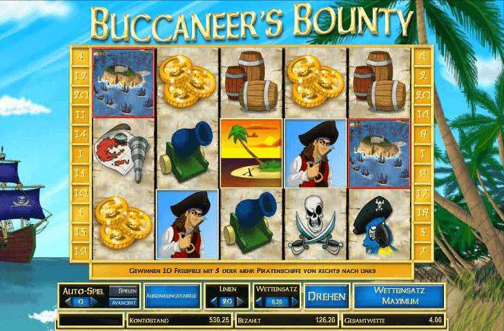 Spielautomat_Buccanneer's_Bounty