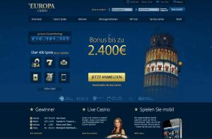 Europa_Casino_Startseite