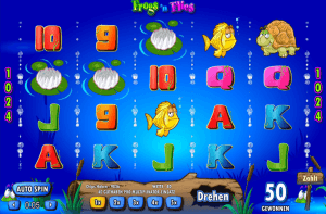 Der_Spielautomat_Frogs'n_Flies_von_Chartwell