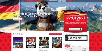 Für deutsche Spieler ist das Royal Panda Casino nun auch verfügbar