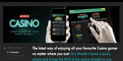 Im bet365 mobilen Casino gibt es zwei neue Spiele