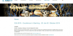 Die Excellence in iGaming 2015