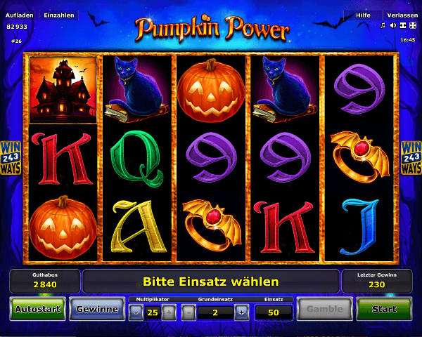 Novoline_Pumpkin_Power_Spielautomat