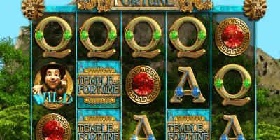 Der neue Spielautomat Temple of Fortune im Mr Green Casino