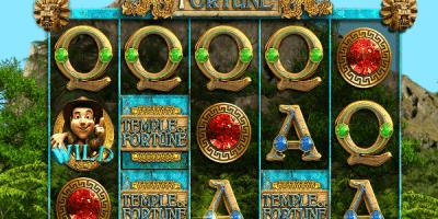Der neue Spielautomat Temple of Fortune im Mr Green Casino