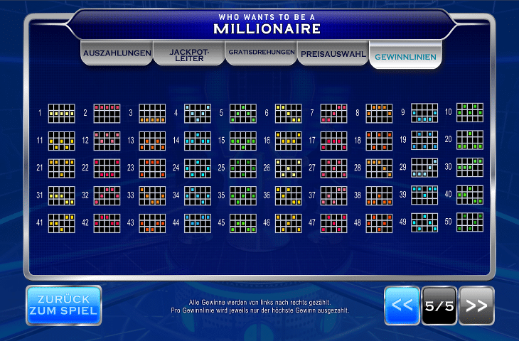 Playtech_Who_Wants_to_be_a_Millionaire_Gewinnlinien